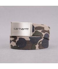 Carhartt WIP Clip Belt Chrome camo zelený