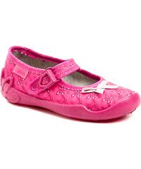 Dětská obuv Befado 119x056 růžové dívčí baleríny