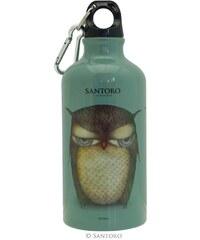Santoro London - Pitná láhev 500ml - Grumpy Owl