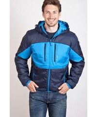 SAM 73 Pánská podzimní bunda s kapucí MB 209 240 - modrá tmavá