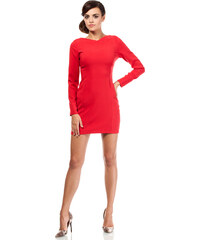 Červené šaty MOE 187