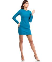 Modré šaty MOE 187
