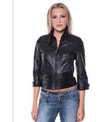 Giorgio Di Mare Dámská kožená bunda GI3693060_Black