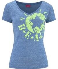 Damen Shirt mit Logo-Druck Venice Beach blau 32/34,36/38,40/42,44/46