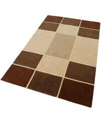 Teppich Maurice handgearbeitet 3,8 kg/m² reine Schurwolle MY HOME braun 7 (B/L: 240x320 cm),8 (B/L: 290x390 cm)