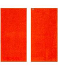 KAS Badetuch KAS Soft mit leuchtenden Farben orange 1xBadetuch 70x140 cm