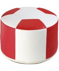 HOME AFFAIRE Sitzkissen Fußball rot 1x 50x34 cm