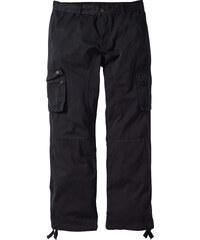 RAINBOW Pantalon cargo Loose Fit Tapered noir homme - bonprix