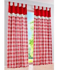 bpc living Panneau Juri (1 pce.), pattes rouge maison - bonprix