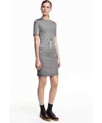 H&M Žebrované šaty