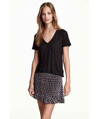 H&M Plisovaná sukně