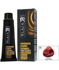 BLACK Ammonia Free Barva na vlasy bez amoniaku s arganem a keratinem 100ml - Titanově červená 7.63