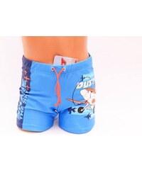Disney chlapecké plavky s potiskem modré 3 roky - 104 cm