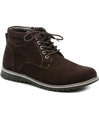 Navaho NT-136-14-15 hnědé pánské zimní boty