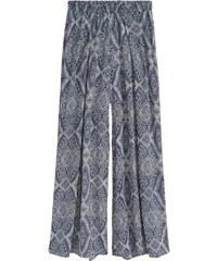 H&M Široké saténové kalhoty
