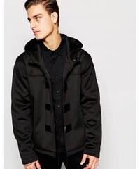 ASOS - Blouson style duffle-coat en néoprène - Noir