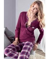Dámské pyžamo Infiore 65813 Wine