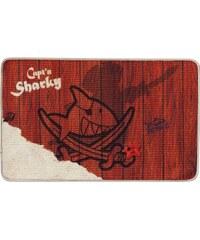 Fußmatte, Capt'n Sharky, »H-304«, rutschhemmend beschichtet