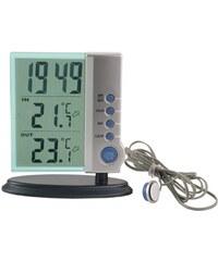 Ostatní Hodiny digitální s měřením teploty HETR503