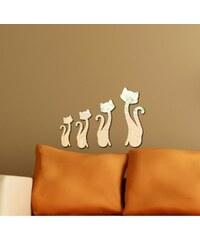 Unknown Dekorativní zrcadlo Cats