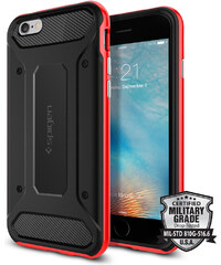 Pouzdro / kryt pro Apple iPhone 6 / 6S - Spigen, Neo Hybrid Carbon Dante Red