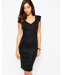 Little Black Dress - Blake - Kleid mit verzierter Schulter - Schwarz