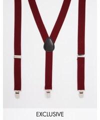 Reclaimed Vintage - Bretelles - Rouge