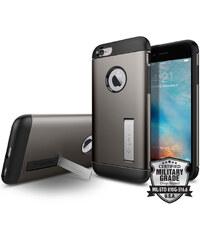 Pouzdro / kryt pro Apple iPhone 6 / 6S - Spigen, Slim Armor Gunmetal