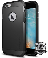 Pouzdro / kryt pro Apple iPhone 6 / 6S - Spigen, Tough Armor Black