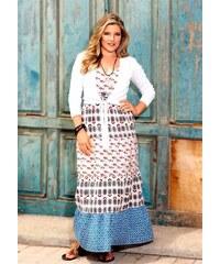 Your Life your Fashion Dlouhé letní šaty 42 pestrá cafcbd355b