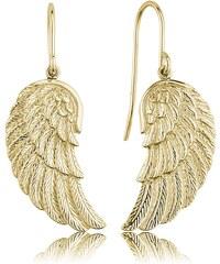 Engelsrufer Damen-Ohrhänger Flügel gold ERE-WING-G