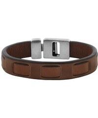 Josh24251 Leder-Armband Mittelbraun 24251mb, 19 cm