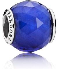 Pandora Charm Königsblauer Kristall mit Facetten 791722NCB