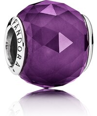 Pandora Charm Violetter Kristall mit Facetten 791722NRP