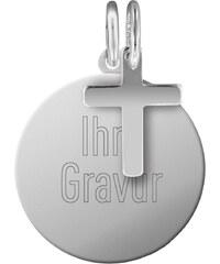 trendor Silber Kinder Gravur-Set Kreuz 87660