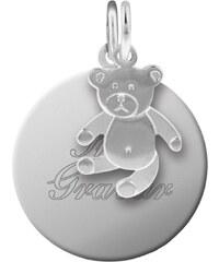 trendor Silber Kinder Gravur-Set Teddy 87677
