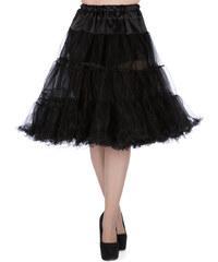 """Lady V London Black Spodnička k šatům 23"""" 44-46"""