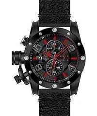 JVD Luxusní nadčasové sportovní vodotěsné hodinky LOSER Vision BORDEAUX RED  LOS-V06. Detail produktu. Pánský chronograf - luxusní vodotěsné hodinky JVD  ... 88d77357527