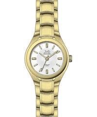 Zlacené titanové moderní náramkové hodinky JVD titanium J5022.1 3e511aadef