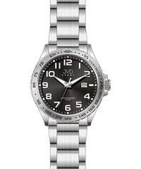 f94d7e9a598 Černé luxusní vodotěsné pánské ocelové hodinky JVD steel J1078.2 - 10ATM