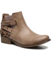 Mustang shoes - Lienos - Stiefeletten & Boots für Damen / beige