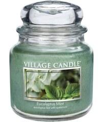 Village Candle Svíčka ve skle Eucalyptus Mint - střední