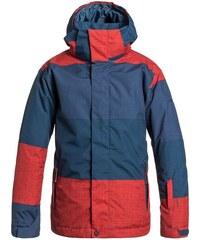 Dětská zimní bunda Quiksilver Mission print Y B snjt nzg2 Big stripe poiciana 12