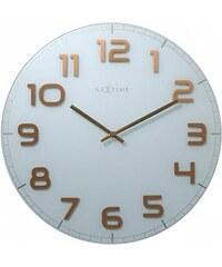 Designové nástěnné hodiny 3105wc Nextime Classy Large 50cm