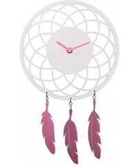 Designové nástěnné hodiny 3114wi Nextime Dreamcatcher 24cm