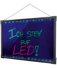EASY MAXX easymaxx LED Schreibtafel mit Farbwechsel
