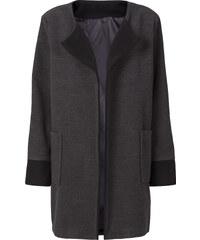 RAINBOW Manteau oversized gris manches longues femme - bonprix