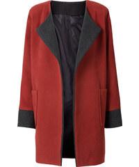 RAINBOW Manteau oversized orange manches longues femme - bonprix