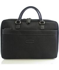 Černá luxusní taška Hexagona 93806 na notebook černá