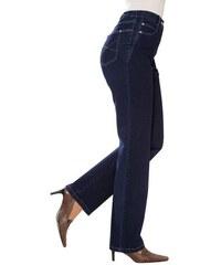 CLASSIC BASICS Damen Classic Basics Jeans mit seitlichen Einsätzen blau 19,20,21,22,23,24,25,26,27,28